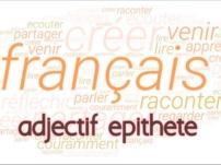 adjectif épithète