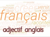 Apprendre adjectif anglais