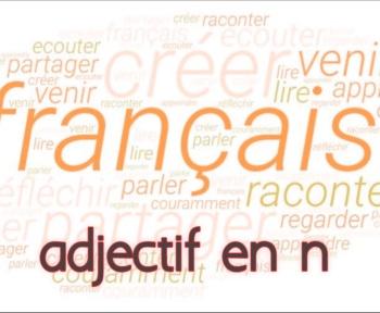 adjectif en francais