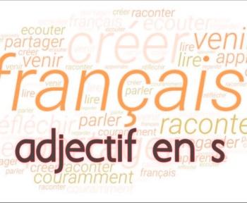 adjectif en s