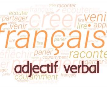 adjectif verbal exercice