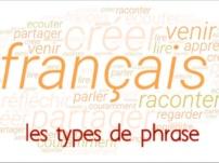 Quels sont les différents types de phrases en français ?