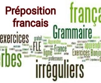 Préposition français