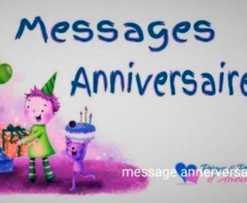 Message anniversairesouhaiter un joyeux anniversaire