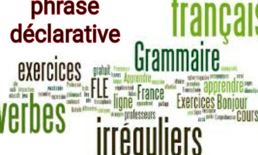 phrase déclarative