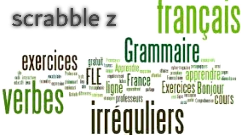 Scrabble z en français