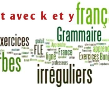 Mot avec k et y – plus utilisé en français