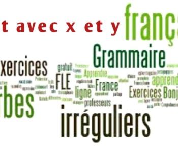 Mot avec x et y en français